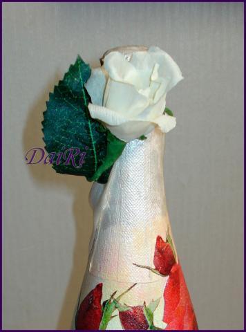 Роза из бумаги. Для сладкого букета или как украшение
