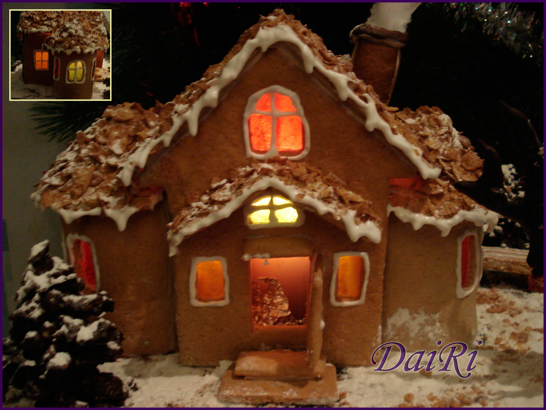 Фото пряничных домиков как сделать